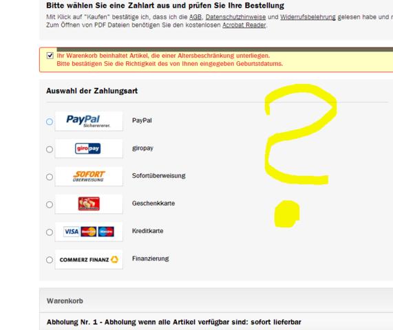 paypal warum kreditkarte hinzufügen