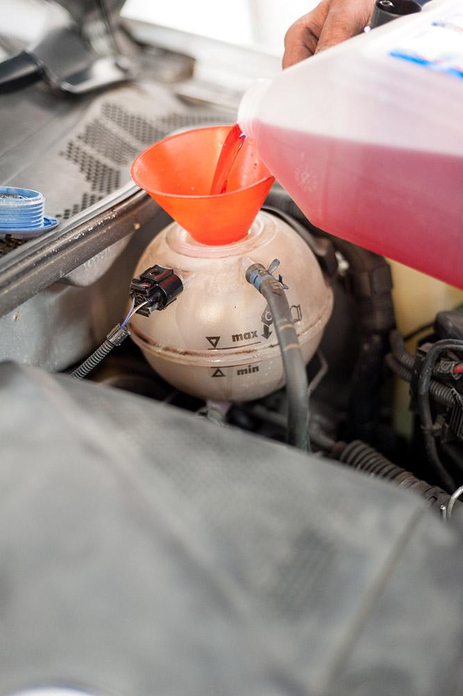 kühlerfrostschutz mischen verhältnis