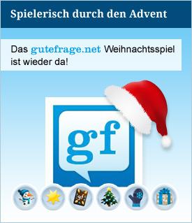weihnachtsspiel gutefrage.net