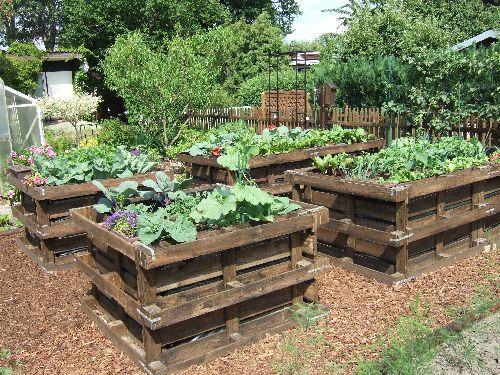 tucowws > hochbeet mit europaletten selber bauen, Gartenarbeit ideen