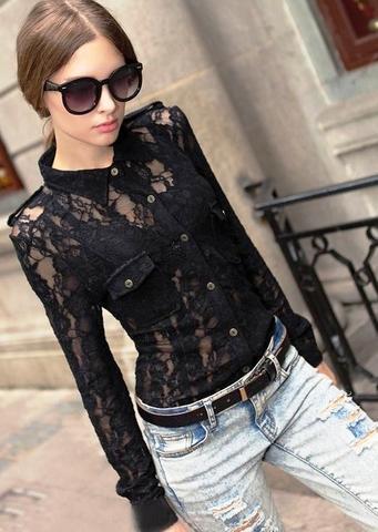 black lace - (Beauty, Mode, Style)