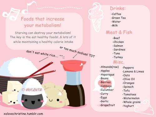 Essen, dass gut für den Stoffwechsel ist. - (essen, abnehmen, Diät)