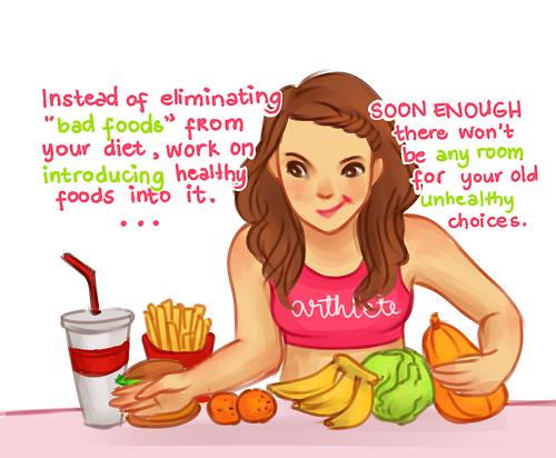 Good Foods vs. Bad Foods - (essen, abnehmen)
