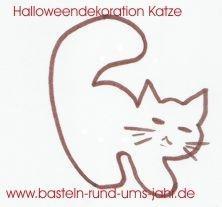 Katze von www.basteln-rund-ums-jahr.de - (Kinder, Kostüm, Karneval)