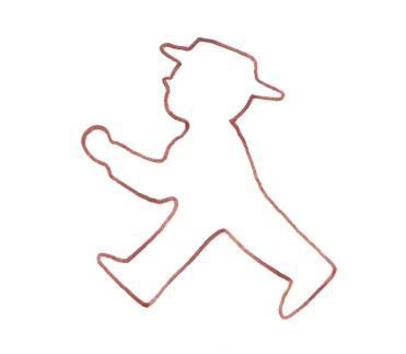 Ampelmännchen rot von www.basteln-rund-ums-jahr.de - (Kinder, Kostüm, Karneval)