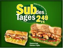 Subway footlong kalorien