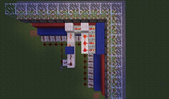 Sicht von Oben - (Minecraft, Piston, GanjaCraft)