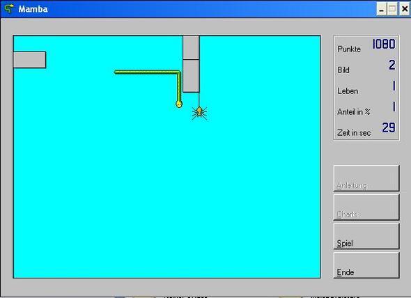 Mamba Spinnenspiel  - (PC-Spiele, Spinne, 2D)