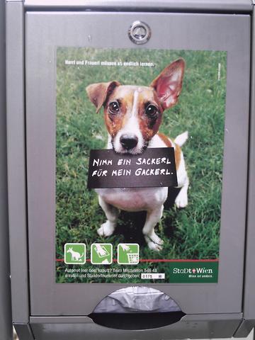 So hällt man die Straßen in Wien sauber - (Hund, Hundekot)