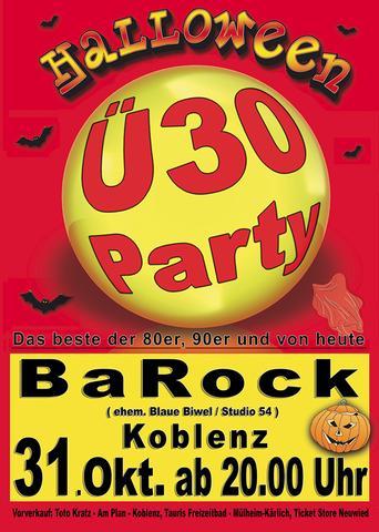 Ü-30 Halloween Party - (Party, Halloween, Rheinland-Pfalz)
