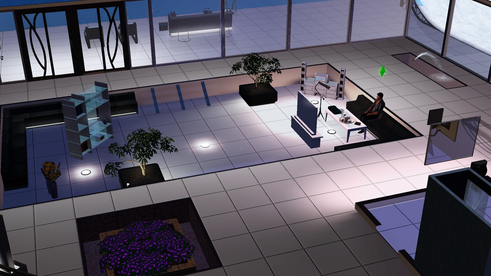 awesome sims 3 wohnzimmer modern gallery - house design ideas ... - Sims 3 Wohnzimmer Modern