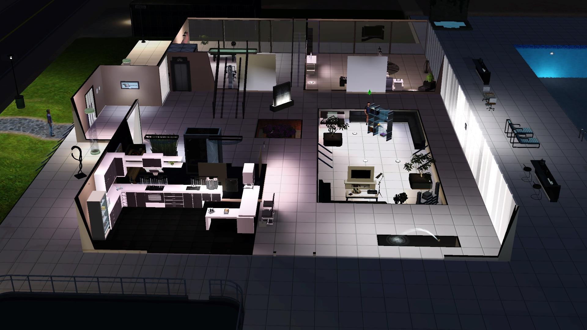 sims 3 wohnzimmer modern: einrichten - Sims 3 Wohnzimmer Modern