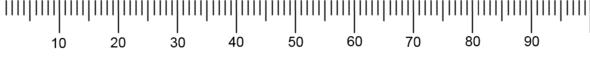 Das Lineal zum Messen - (Mathe, Mathematik, Programm)