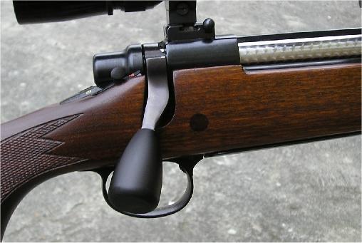 Luftgewehr mit unterhebelspanner und magazin sport jagd