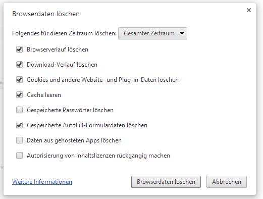 Google Chrome Sehr Langsam