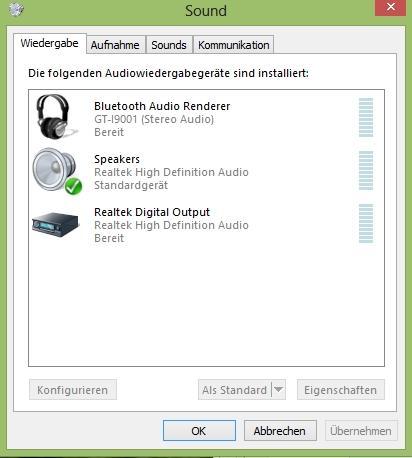 Sound-Einstellungen - (Programm, programmieren, Kopfhörer)