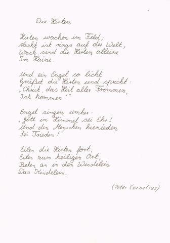Kurzes gedicht 4 zeilen