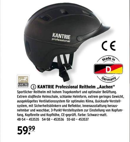 """Raiffeisen Kantrie professional """"Aachen"""" - (Pferde, reiten, Helm)"""