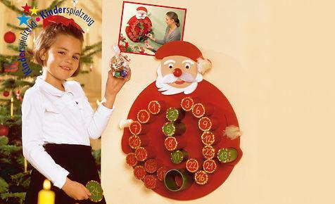 Adventskalender basteln - (Kinder, Geschenk, Weihnachten)