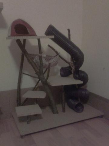 Kletterbaum - (Tiere, Ratten, Käfig)