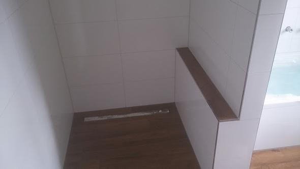 Dusche Vorne Offen : Dusche bauen Mauer oder Glas? (Badezimmer, Fliesen, Glaswand)