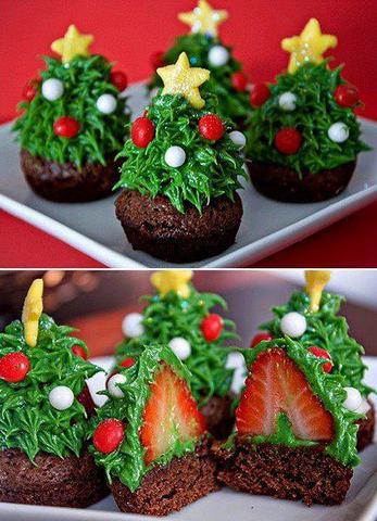 :-) - (essen, Weihnachten, nachtisch)