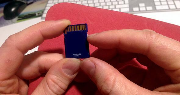 SD Karten Kopierschutz - (Karten, Speicherkarte, Flash)
