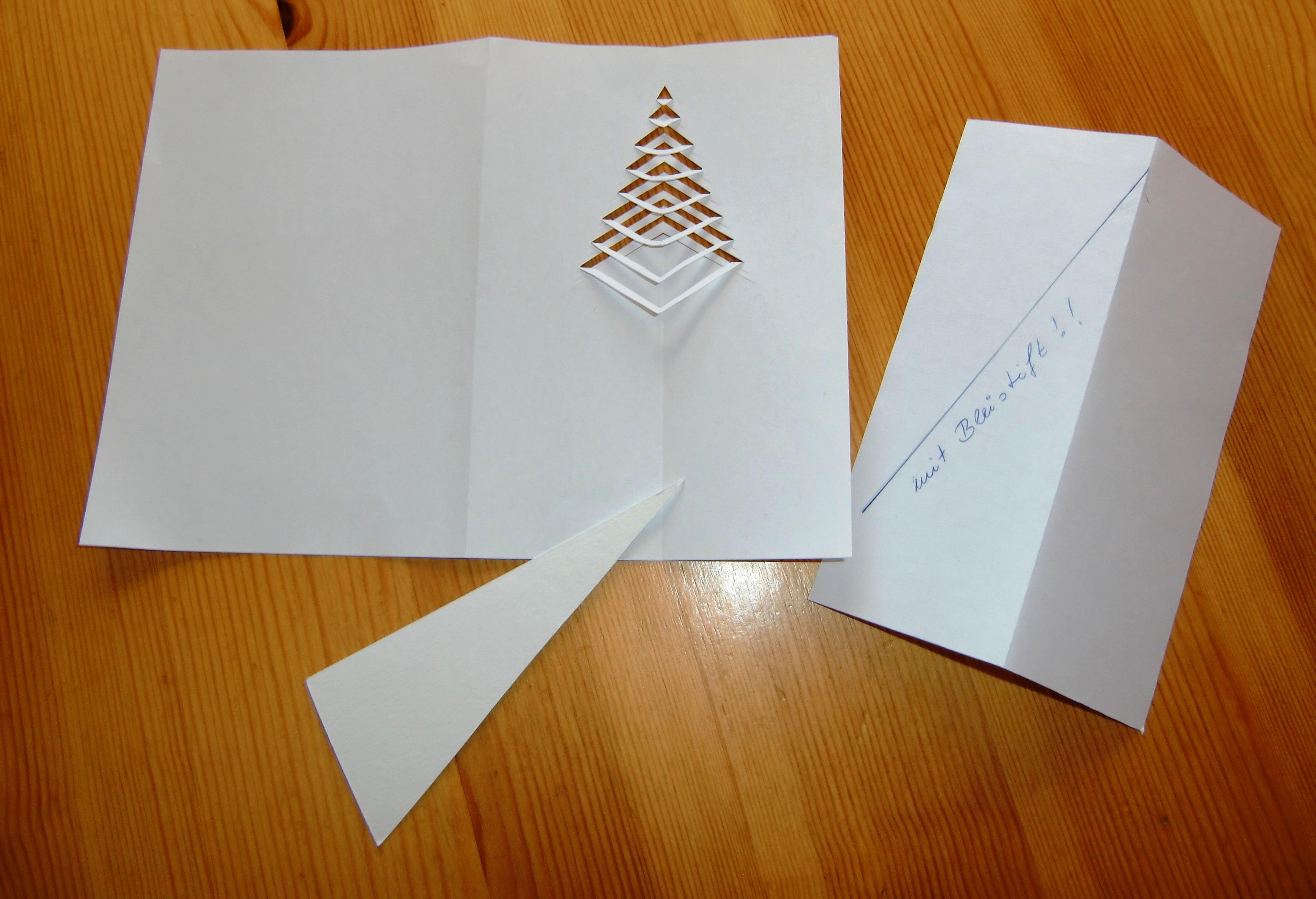 Weihnachtskarte zum nachdenken gestalten aber wie for Weihnachtskarten basteln vorlagen kostenlos