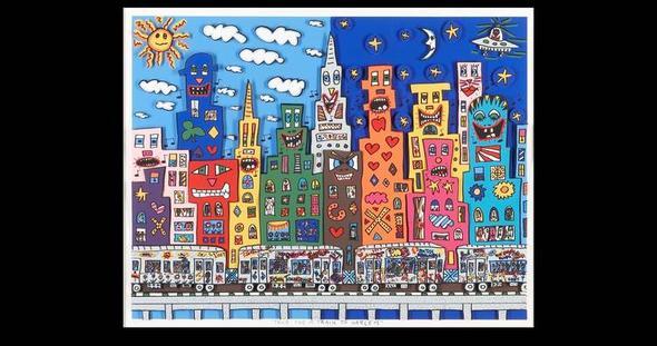 Großstadt - (Name, Kunst, Künstler)