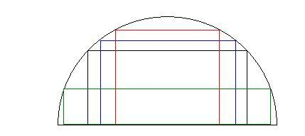 Halbkreis - (Mathe, Extremalprobleme)
