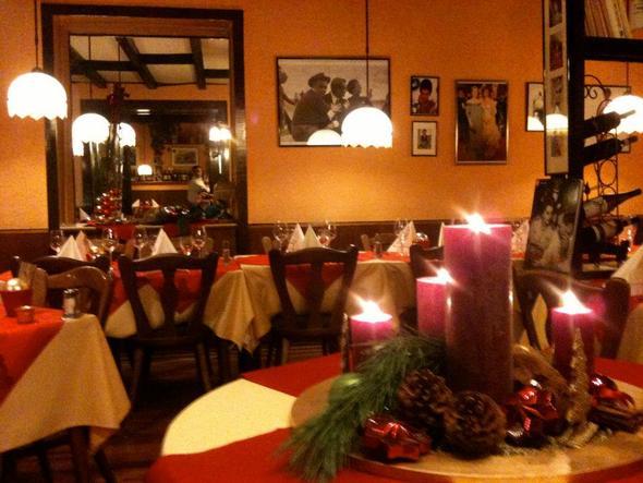 Weihnachtsfeier in Bonn im Ristorante La Vita - (Ratgeber, Feier, Raum)
