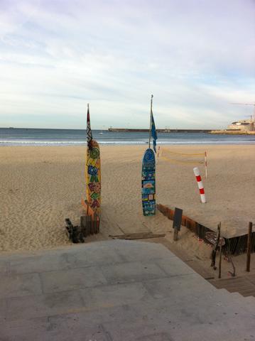 Strand und Hafen von Matosinhos - (Nachname, Portugal)
