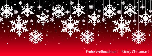 Frohe Weihnachten - Facebook Titelbild - (Facebook, Bilder)