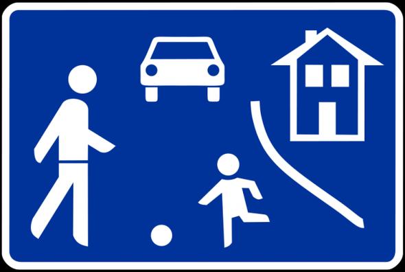 parken auch ausserhalb der gekennzeichneten fl chen auto spielstra e wendekreis. Black Bedroom Furniture Sets. Home Design Ideas