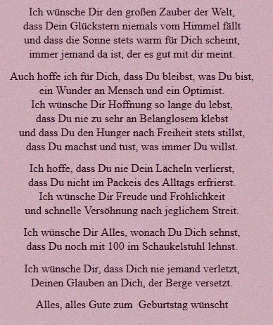 Lustige Gedichte Zum 50 Geburtstag Schwester