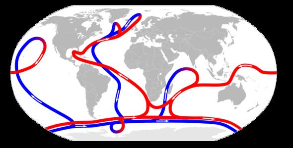Meersströmungen - (Klima, Golfstrom)