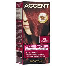 Accent Granatrot - (Haare, färben, rot)