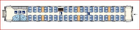 2. Serie - (Deutsche Bahn, Sitzplan, ICE 3)