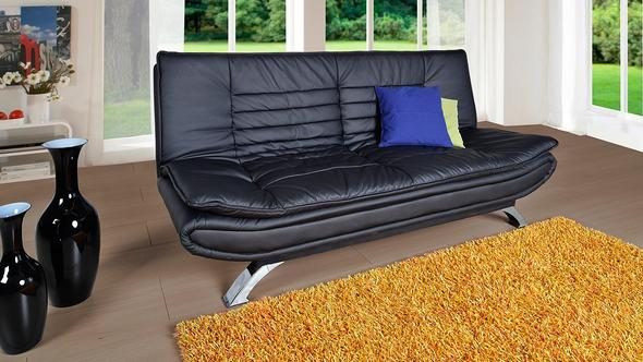 schlafsofa 160cm breite couch klappsofa. Black Bedroom Furniture Sets. Home Design Ideas