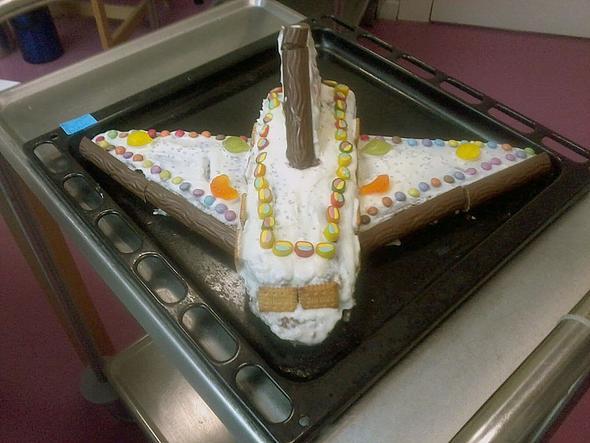Spacesshuttle - (backen, Küche, Kuchen)