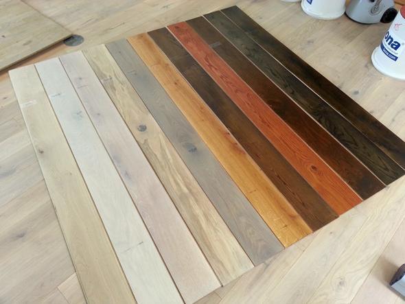 kann man bei einem eiche parkettboden nach dem abschleifen die farbe dunkler machen parkett. Black Bedroom Furniture Sets. Home Design Ideas