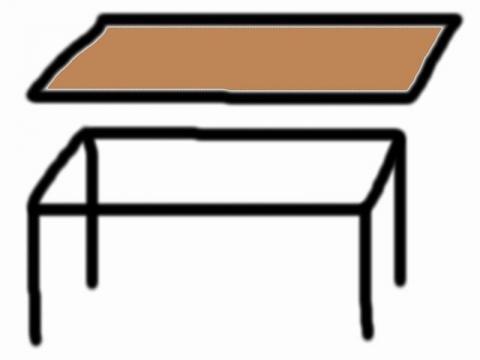 wir wollen einen schreibtisch selber bauen untergestell selberbauen. Black Bedroom Furniture Sets. Home Design Ideas