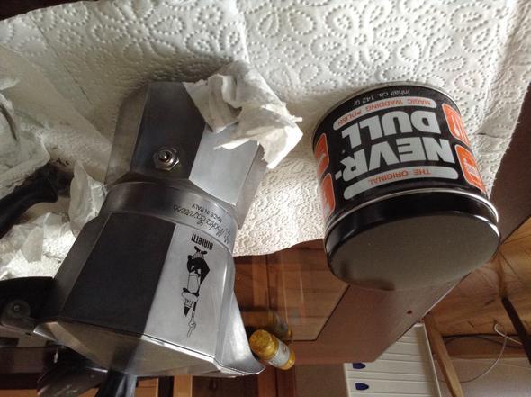 Never Dull  - (Aluminium, Kaffeekocher)