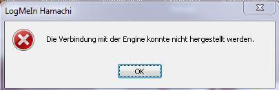 Hamachi Engine Fehler - (Fehlermeldung, Hamachi)