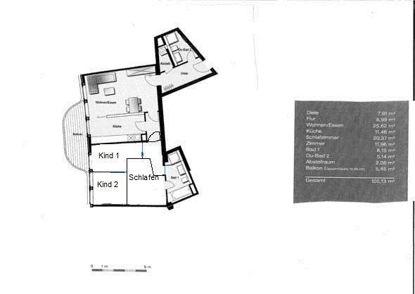 umbau einer 3 zimmerwohnung zu 4 zimmer hilfe wohnung architektur renovierung. Black Bedroom Furniture Sets. Home Design Ideas