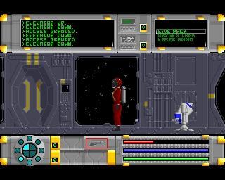 Amiga 500 - Cosmo Ranger - SOL AD - Screen 03 - (Spiele, Science Fiction, amiga)