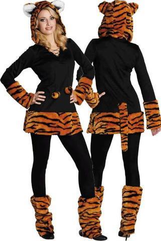 Leopardenkostüm - (Teenager, Kostüm, cool)
