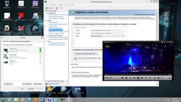 NVIDIA Digital Audio Bild 2 - (PC, TV, HDMI)