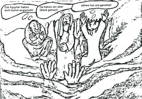 Israeliten am Roten Meer - (Psychologie, Menschen, Religion)