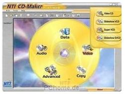 - (Computer, CD brennen, NTI Media Maker)